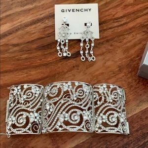 Given by bracelet and matching earrings